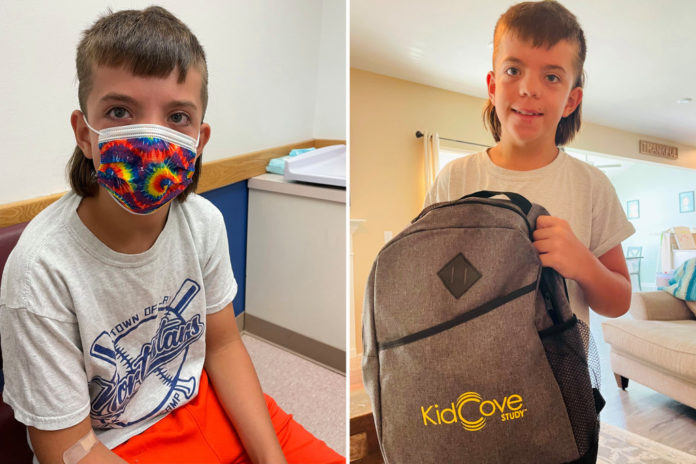 Nine-year-old New Yorker volunteers for COVID vax trial