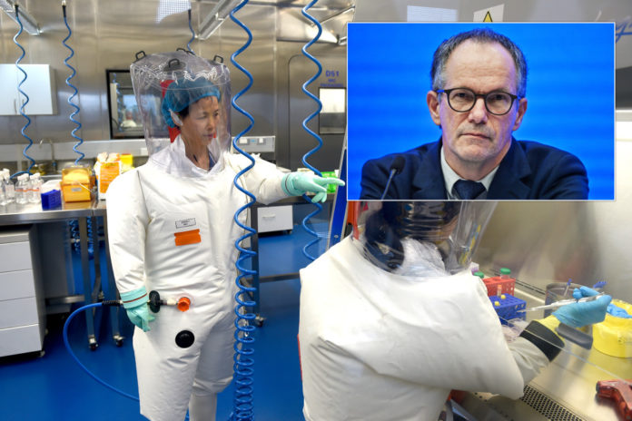 WHO scientist eyes on Wuhan lab that moved before pandemic