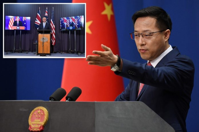 Chinese paper tags Australia as 'target for a nuclear strike'