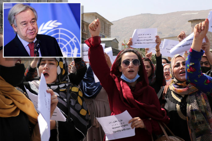 UN to seek funds for 'humanitarian catastrophe' in Afghanistan