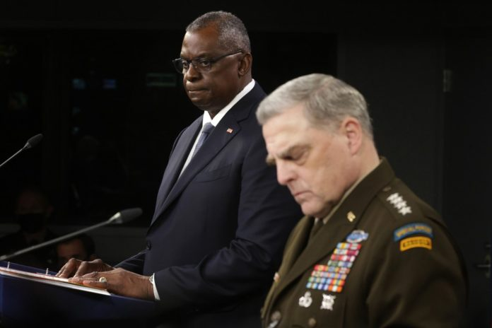 Lloyd Austin backs Mark Milley amid furor over calls to Chinese general