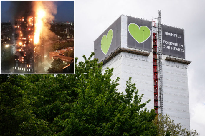 London's Grenfell Tower, site of deadly 2017 fire, to be taken down