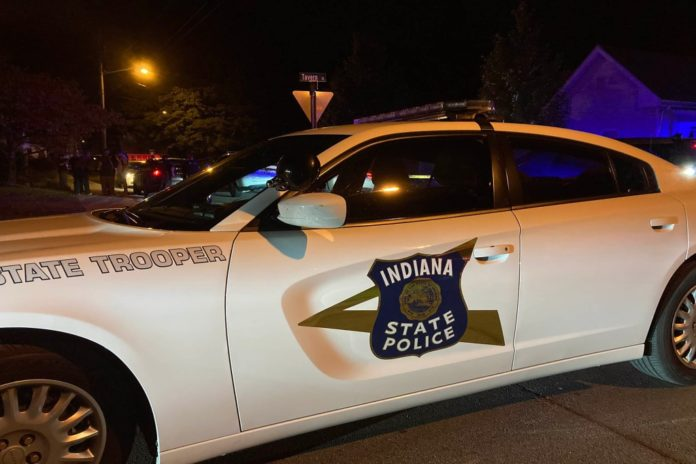 Indiana cop shot after gunfight erupts during welfare check