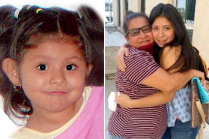 Girl allegedly abducted by dad in 2007 reunites with mom