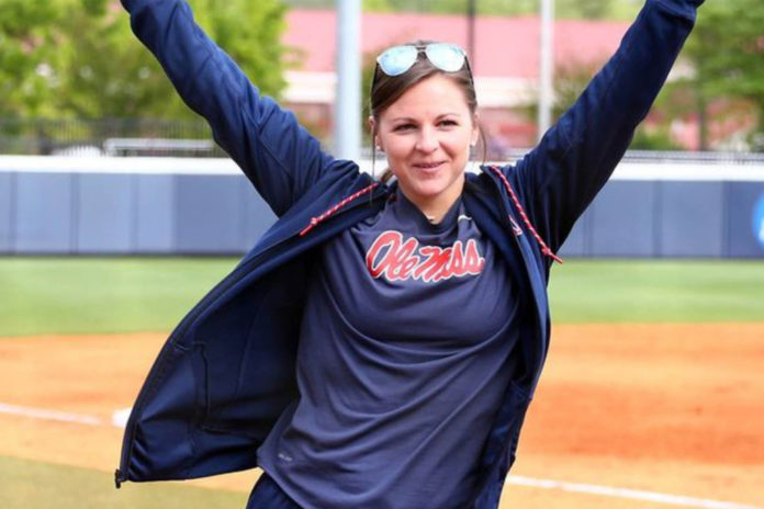 Ole Miss softball coach Katie Browder recently married