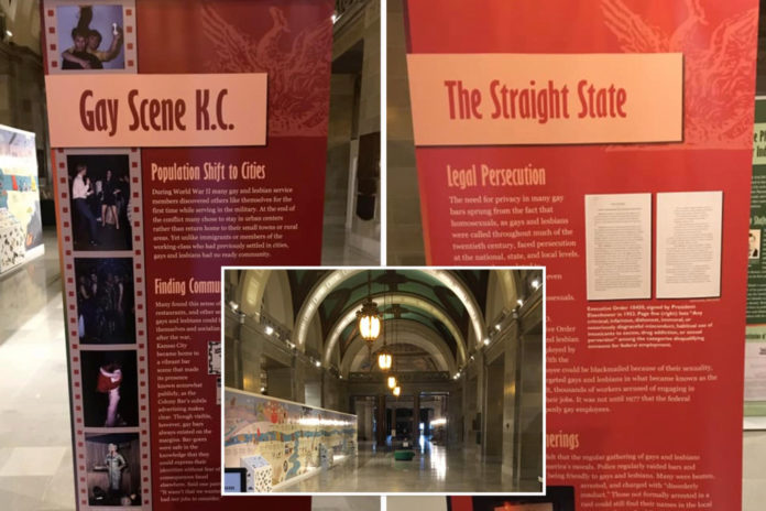 LGBTQ exhibit removed from Missouri state capitol