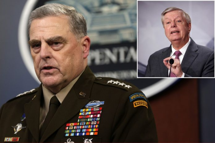 Senators call for Gen. Mark Milley to come clean over calls with Chinese counterpart