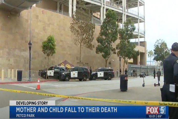 Mom, 2-year-old child fall to their deaths at Padres' Petco Park