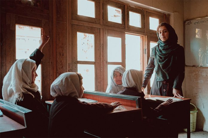 Taliban have yet to give timeline on when women can return to school