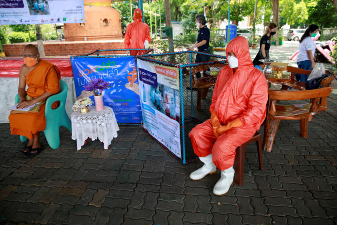 Thailand makes PPE gear out of upcycling bottles