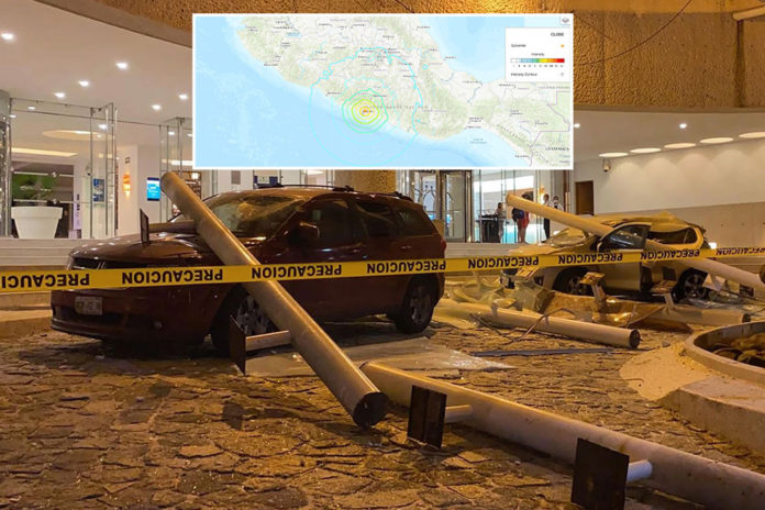 Strong earthquake hits near Acapulco, buildings sway in Mexico City