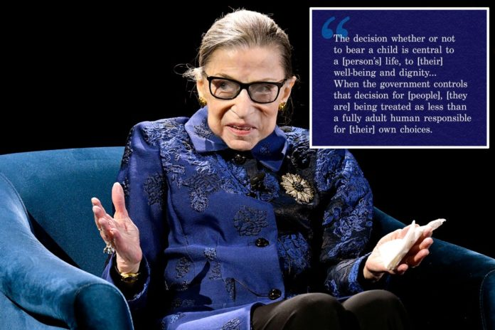 ACLU apologizes for changing RBG quote to delete 'woman' and 'she'