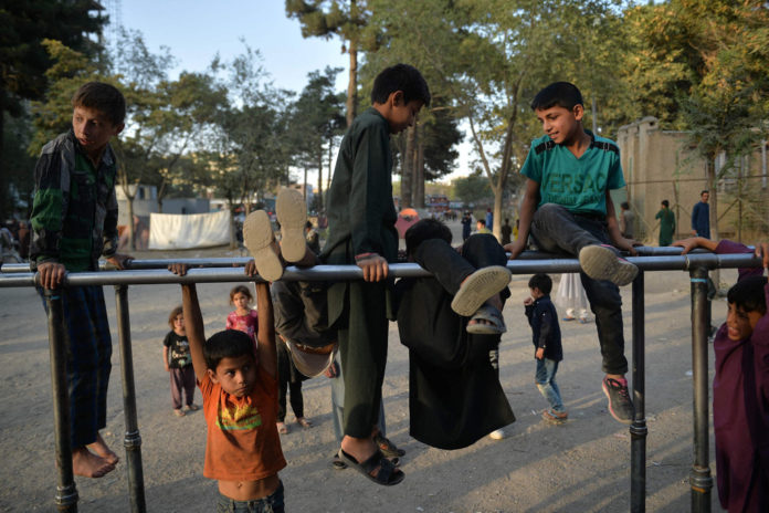 Afghanistan's internally displaced families are living in Kabul parks