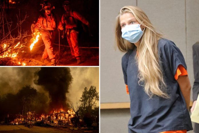 Alexandra Souverneva charged with starting Fawn Fire in California