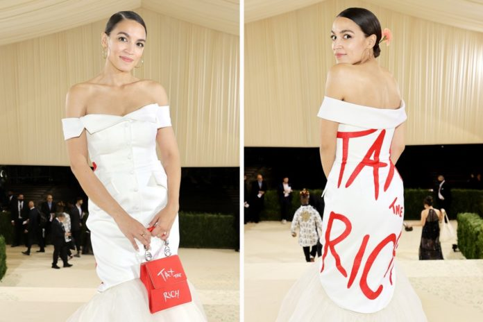 AOC's Met Gala appearance sparks new 'GALA' law