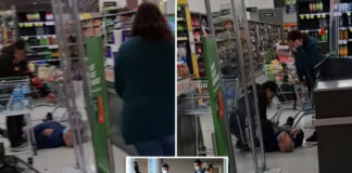 Video shows shoppers fleeing from attacker in New Zealand