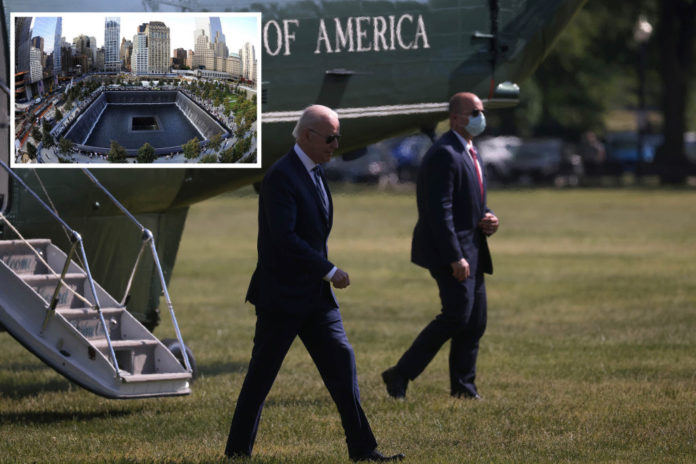Biden to attend 9/11 ceremonies at all three sites on 20th anniversary of attacks