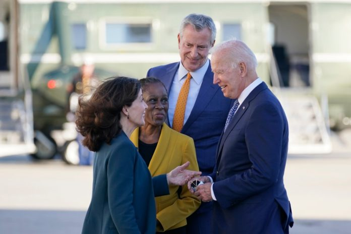 Joe Biden arrives in NYC for United Nations General Assembly