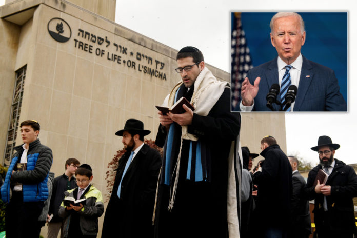 White House says Biden did not visit Tree of Life synagogue