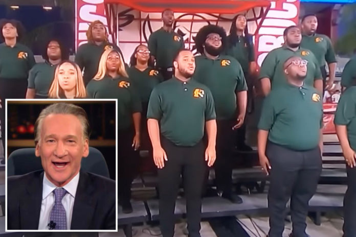 Bill Maher disagrees with NFL playing 'black national anthem'