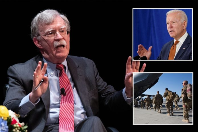 John Bolton warns Afghanistan withdrawal could turn nuclear
