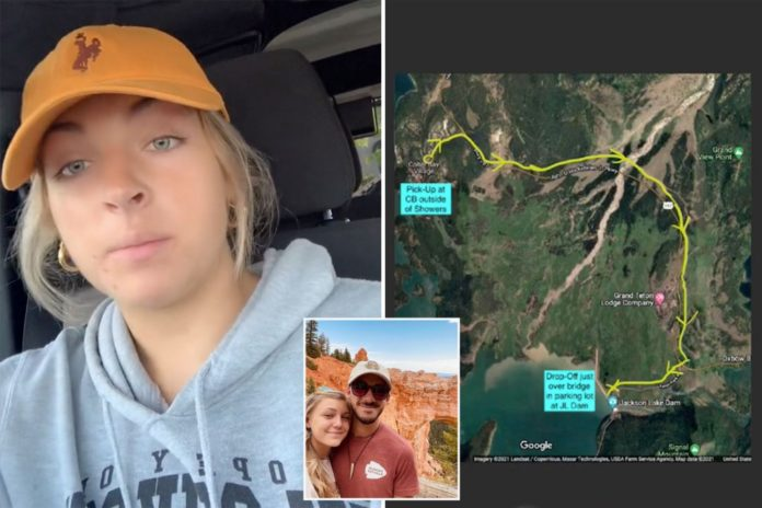 TikToker says she picked up Brian Laundrie hitchhiking in Grand Teton