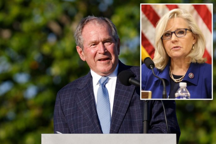 George W. Bush to hold reelection fundraiser for Rep. Liz Cheney