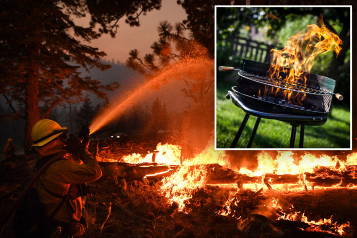 Campfires banned in California amid wildfires