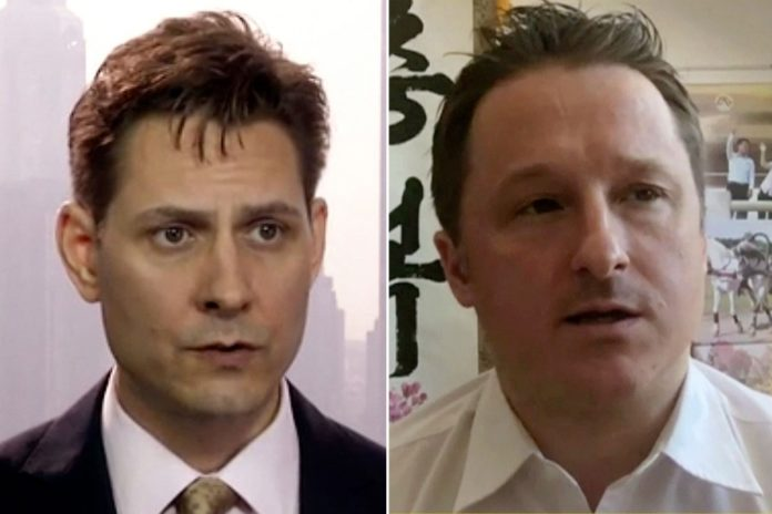 Canadians Michael Spavor and Michael Kovrig released from China prison