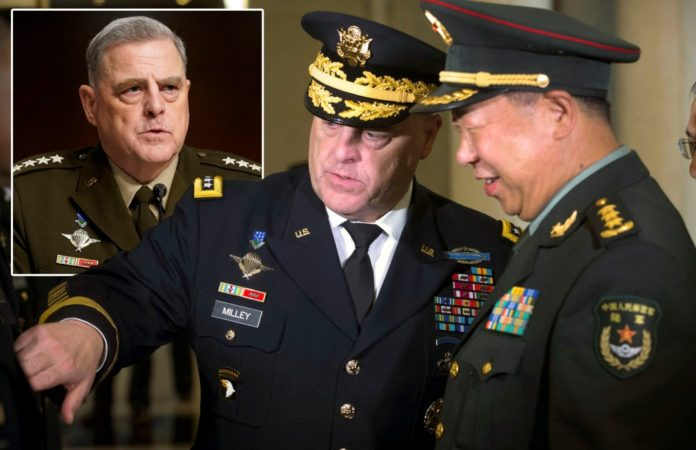 Milley says he was 'certain' Trump didn't plan to attack China