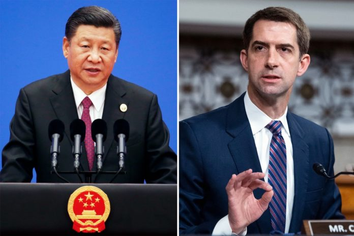 Sen. Tom Cotton warns of cold war with China and Biden must take action
