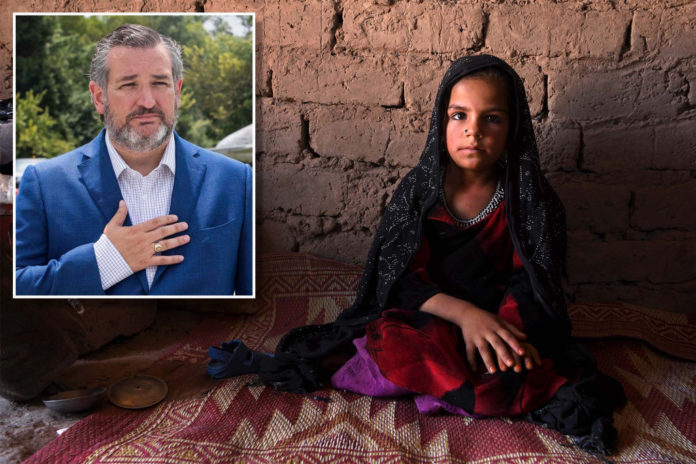 Ted Cruz blasts Biden amid reports of Afghan child brides brought to US