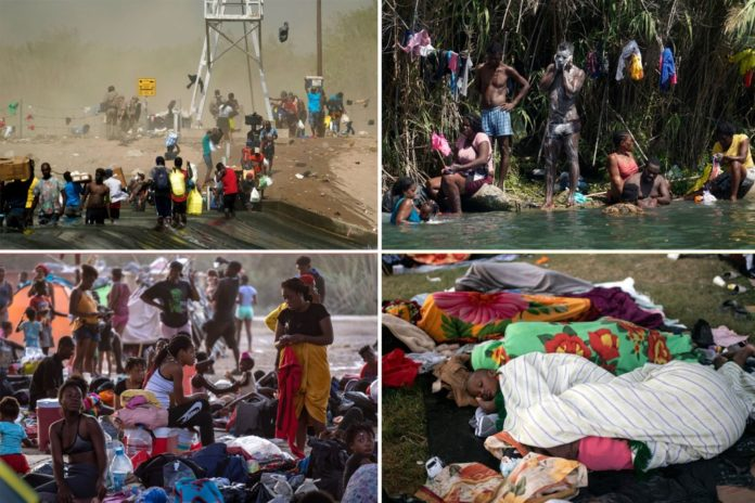 DHS mum on number of Haiti migrants released into US; 1,400 sent back