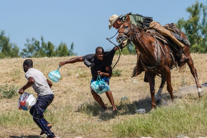 DHS reacts to images of Haitian migrants being dispersed with horses
