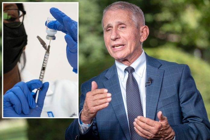 Fauci says data on mixing COVID-19 vaccine booster shots will be available soon