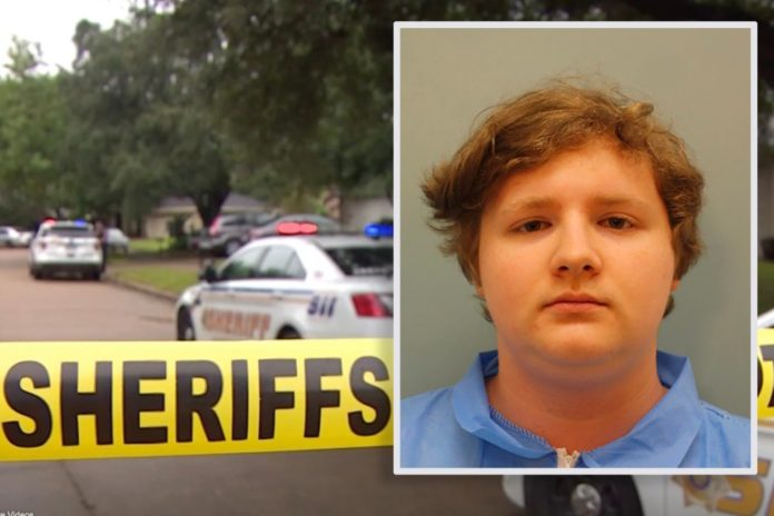 Teen accused of stabbing twin sister to death claims he was sleeping