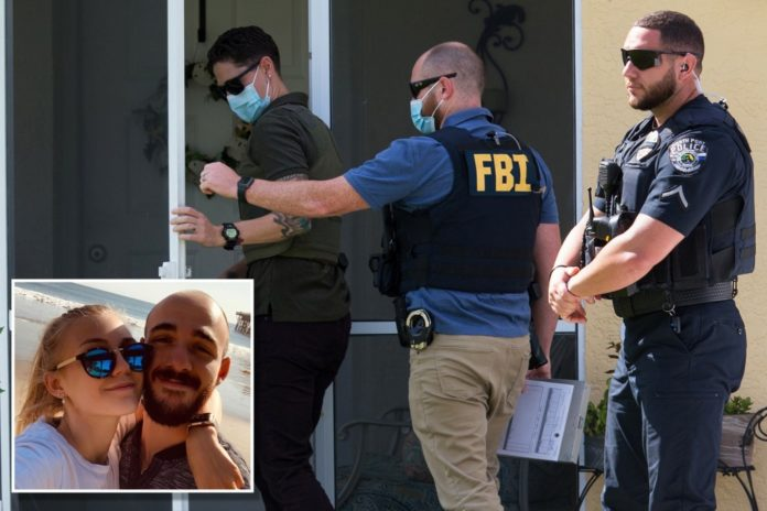 FBI returns to Brian Laundrie's home amid Gabby Petito case