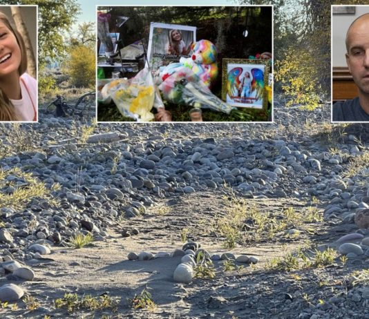 Stepfather creates memorial at Wyoming site where body was found