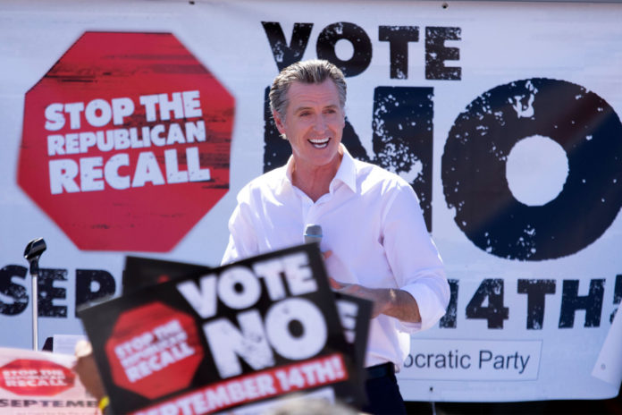Gavin Newsom projected to survive recall vote