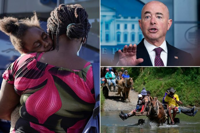 Homeland Security admits to allowing 12K Haitian migrants into US