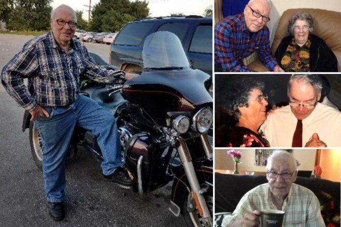 93-year-old Harley rider killed when bike collided with car