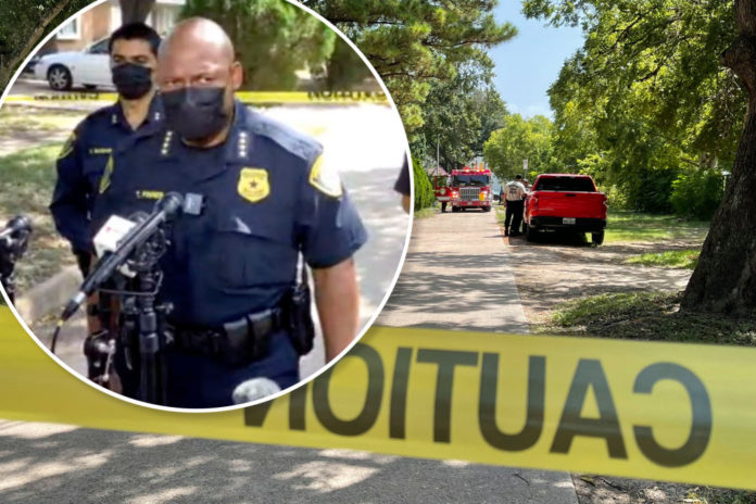 Family of four found fatally shot at Houston home after fire