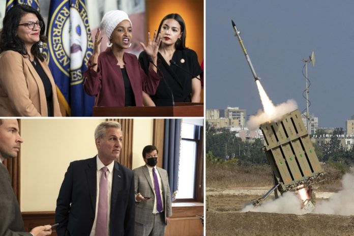 Republicans blast Democrats for pulling Iron Dome funding