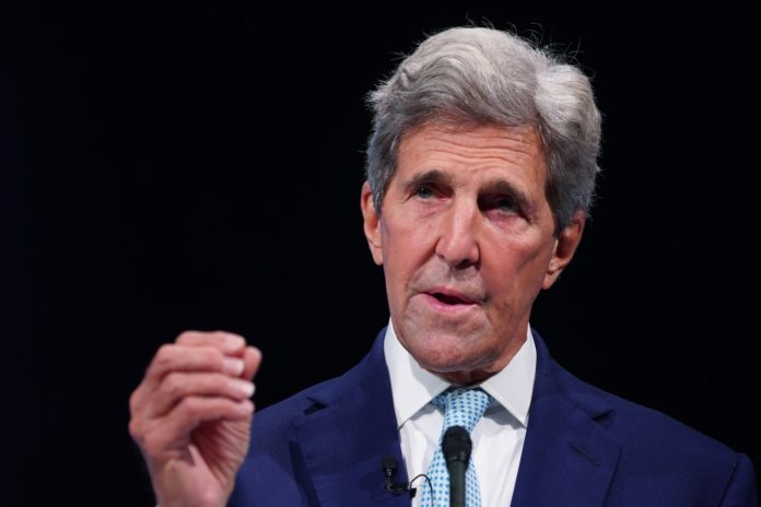 John Kerry says climate change is priority with China
