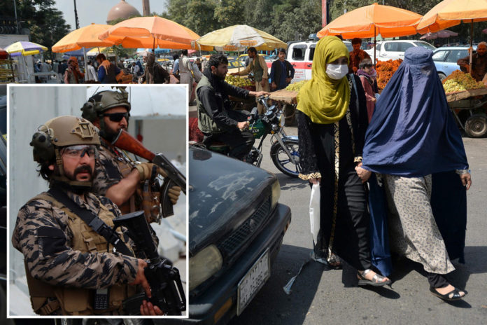 Depression across Kabul on first day of new Taliban era