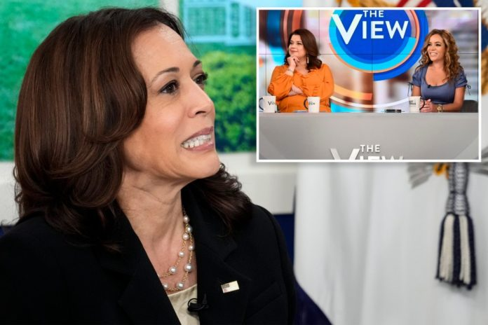 Kamala Harris going remote on 'The View' after co-hosts' COVID diagnosis