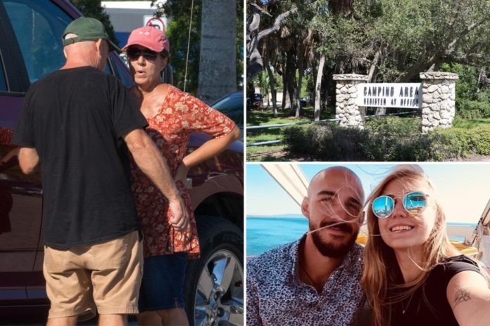 Brian Laundrie's mom changed Florida camping reservation before son returned