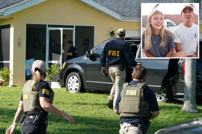 FBI agents swarm Brian Laundrie's home in Florida