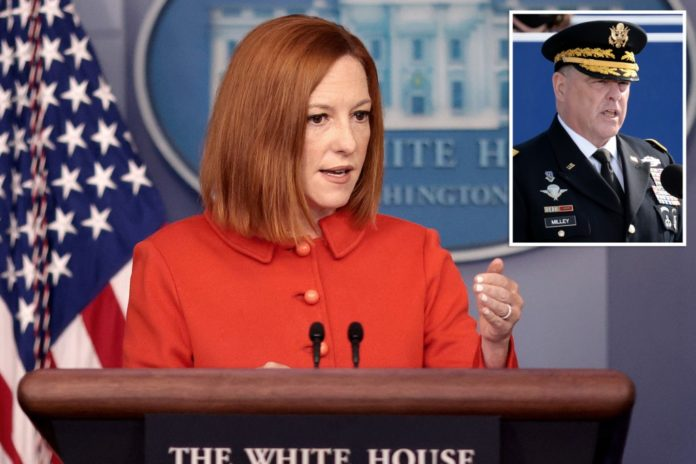 White House defends Milley amid Trump 'treason' accusation