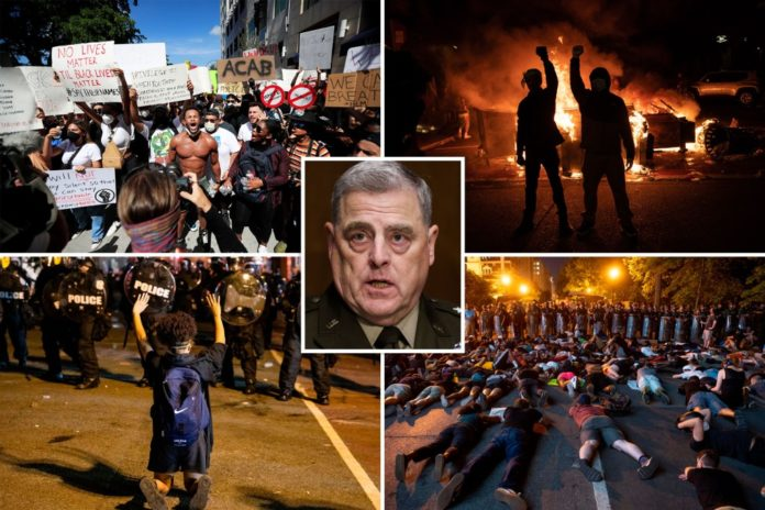 Milley told Trump the George Floyd protests were no big deal